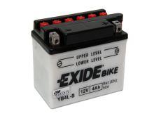 Motobaterie EXIDE BIKE Conventional 4Ah, 12V, 60A, YB4L-B