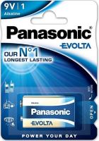 Baterie Panasonic Evolta Alkaline, 6LR61, 9V, (Blistr 1ks)