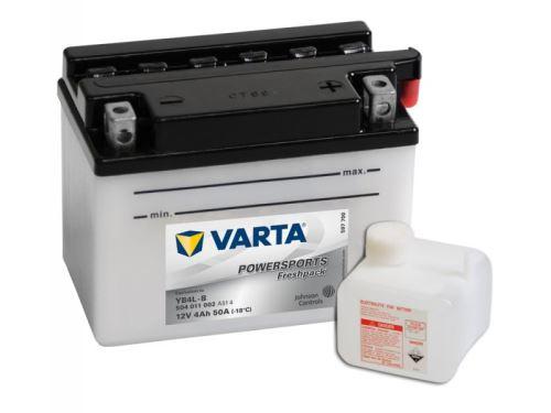 Motobaterie VARTA YB4L-B, 4Ah, 12V