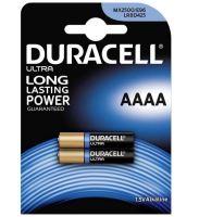 Baterie Duracell Alkaline MN2500, AAAA, 1,5V (Blistr 2ks)