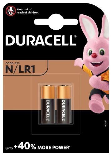 Baterie Duracell MN9100 CR1, LR1, N, 910A, Alkaline, nenabíjecí, fotobaterie, (Blistr 2ks)