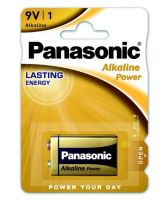 Baterie Panasonic Alkaline Power, 6LR61, 9V, (Blistr 1ks)