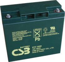 Akumulátor (baterie) CSB EVX12200, 12V, 20Ah, zapuštěný závit M5