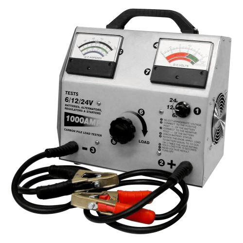 Profesionální FY-1000 zátěžový tester  baterií s měřením V+A 1000A