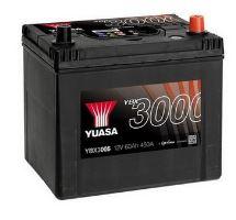 Autobaterie Yuasa YBX3000, 60Ah, 12V, 450A (YBX3005)