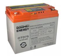 Trakční (gelová) baterie Goowei OTD75-12, 75Ah, 12V ( VRLA )