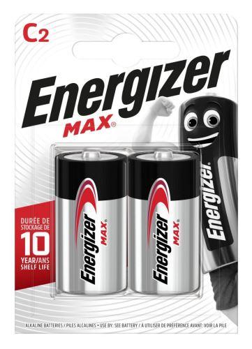 Baterie Energizer Max LR14, C, alkaline, EN-E300129500 (Blistr 2ks)