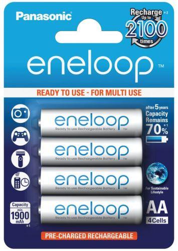 Baterie Panasonic Eneloop BK-3MCCE/4BE, AA, 1900mAh, (blistr 4ks)