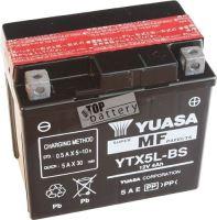 Motobaterie YUASA YTX5L-BS, 12V, 4Ah