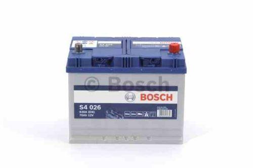 Autobaterie BOSCH Blue S4 026, 70Ah, 12V, 630A, 0 092 S40 260