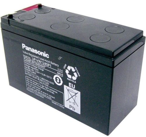 Akumulátor (baterie) PANASONIC UP-PW1245P1, 9Ah, 12V