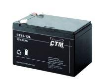 Akumulátor (baterie) CTM/CT 12-12L (12Ah - 12V - Faston 250)
