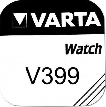 Baterie Varta Watch V 399, V 395, CR927, hodinková, (Blistr 1ks)