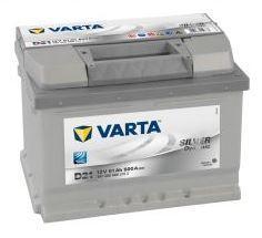 Autobaterie VARTA Silver Dynamic 61Ah, 600A, 12V (D21)