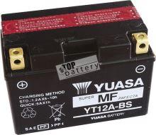 Motobaterie YUASA YT12A-BS, 12V, 9,5Ah
