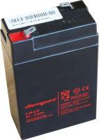 Baterie (akumulátor) ALARMGUARD CJ6-2.8, 6V, 2,8Ah