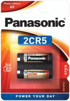 Baterie Panasonic 2CR5, Lithium, 6V, 2CR5-U1 (Blistr 1ks)
