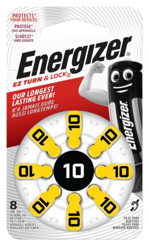 Baterie do naslouchadel Energizer 10 SP-8 8ks EN-634923, (Blistr 8ks)