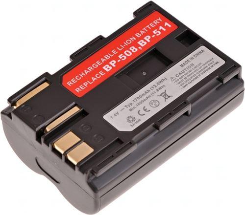 Baterie Canon BP-511, 7,2V (7,4V), 1700mAh
