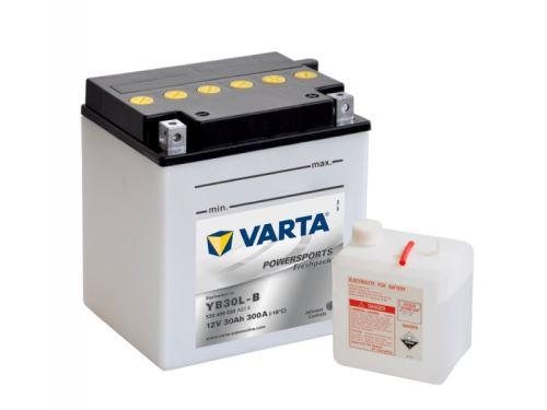 Motobaterie VARTA YB30L-B, 30Ah, 12V, 300A