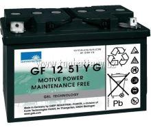 Trakční gelová baterie Sonnenschein GF 12 051 Y G1, 12V, 56Ah