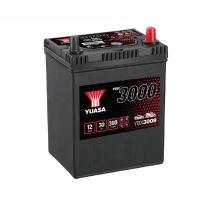 Autobaterie Yuasa YBX3000, 30Ah, 12V, 300A (YBX3009) - Japan Pravá