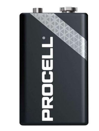 Baterie Duracell Procell Alkaline Industrial MN1604, 6LR61, 9V, 1ks