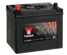 Autobaterie Yuasa YBX3000, 60Ah, 12V, 450A (YBX3014) - Levá