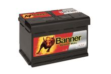 Autobaterie Banner Power Bull P74 12, 74Ah, 12V, 680A (P7412)