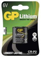 Baterie GP CRP2, Lithium, fotobaterie, 3V, (Blistr 1ks)