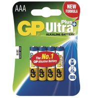 Baterie GP 24AUP Ultra Plus Alkaline, R03, AAA, (Blistr 4ks)