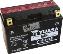 Motobaterie YUASA YT9B-BS, 12V, 8Ah