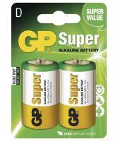 Baterie GP Super Alkaline 13A, LR20, D, 1013402000 (Blistr 2ks)