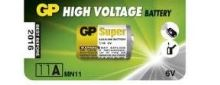 Baterie GP 11A, 1ks, 1021001111, MN11, L1016, 6V, alkaline, (Blistr 1ks)
