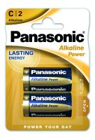 Baterie Panasonic Alkaline Power, LR14, C, (Blistr 2ks)