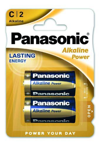Baterie Panasonic Alkaline Power, LR14, C, (Blistr 2ks)
