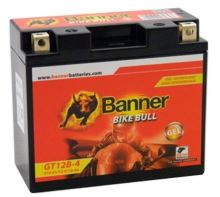 Motobaterie Banner Bike Bull GT12B-4, 12V, 10Ah, Levá