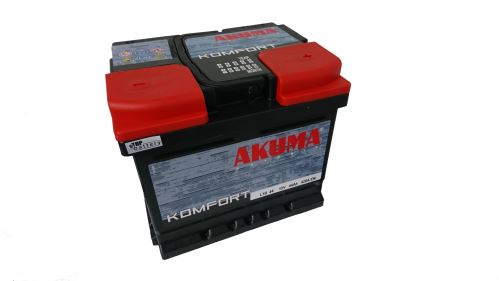Autobaterie Akuma Komfort 12V, 44Ah, 360A, 7905538