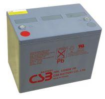 Akumulátor (baterie) CSB HRL12280W, 12V, 75Ah, zapustěný závit M6, M8