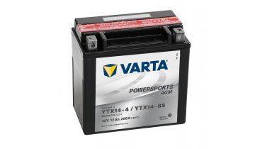 Motobaterie VARTA YTX14-BS, 12Ah, 12V