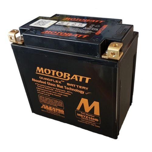 Motobaterie Motobatt MBYZ16HD, 12V, 16,5Ah, 240A (YTX14-BS, KMX14-BS, GYZ16H)