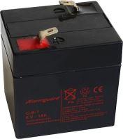 Baterie (akumulátor) ALARMGUARD CJ6-1.0, 6V, 1Ah