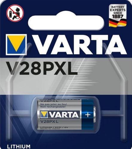 Baterie Varta Lithium, 6231, V28PXL, 28A, V4034PX, 6231101401, (Blistr 1ks)