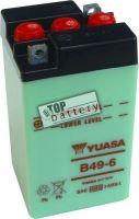 Motobaterie YUASA B49-6, 6V, 8Ah