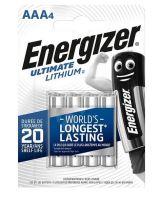 Baterie Energizer Ultimate AAA, L92, Lithium, (Blistr 4ks)