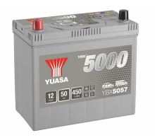 Autobaterie Yuasa Silver High Performance 50Ah, 12V, 450A (YBX5057) - Japan Levá