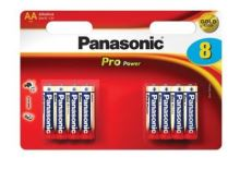 Baterie Panasonic Pro Power, LR6, AA, (Blistr 8ks)