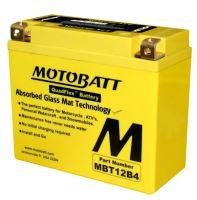 Motobaterie Motobatt MBT12B4, 12V, 11Ah, 170A (YT12B-4, YT12B-BS)