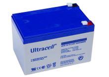 Trakční (gelová) baterie Ultracell UCG12-12, F1,  12Ah, 12V (VRLA)