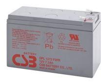 Akumulátor (baterie) CSB GPL1272F2, 12V, 7,2Ah, Faston 250, široký